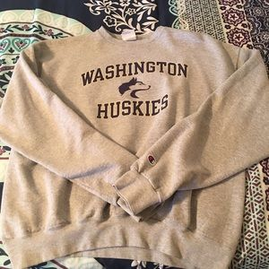 VINTAGE UW Washington Huskies Champion sweatshirt